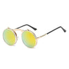 Flip Up Steampunk Sunglasses LightYellow