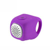 Waterproof Electric Cycle Bell Purple