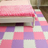 Interlocking Foam Mat Red-Pink-White / 30x30x1cm 12pcs