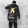 X CROSS CAMO JACKET