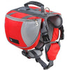 Dog Backpack Harness Red / L