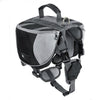 Dog Backpack Harness Black / L