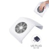 Nail Dust Collector Vacuum White