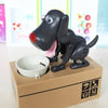 Dog Coin Bank black