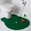 Potty Putter Toilet Golf Mat