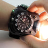 Flashlight Watch Black
