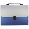 Expanding File Folder Bag Deep BLUE