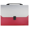 Expanding File Folder Bag RED