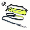 Multi Functional Waist Pouch Dog Leash Green / 160cm