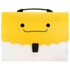 Expanding File Folder Bag Yellow