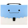 Expanding File Folder Bag Sky Blue