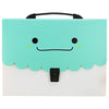 Expanding File Folder Bag Green