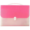 Expanding File Folder Bag Rose Pink