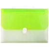 Expanding File Folder Bag Light Green