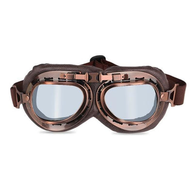 Vintage Motorcycle Goggles Gainsboro