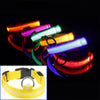LED Dog Collar Yellow / L