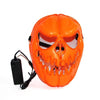 LED Pumpkin Face Mask