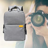 Waterproof DSLR Camera Backpack Gray