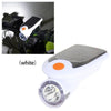 Solar Bike Headlight White