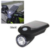 Solar Bike Headlight Black