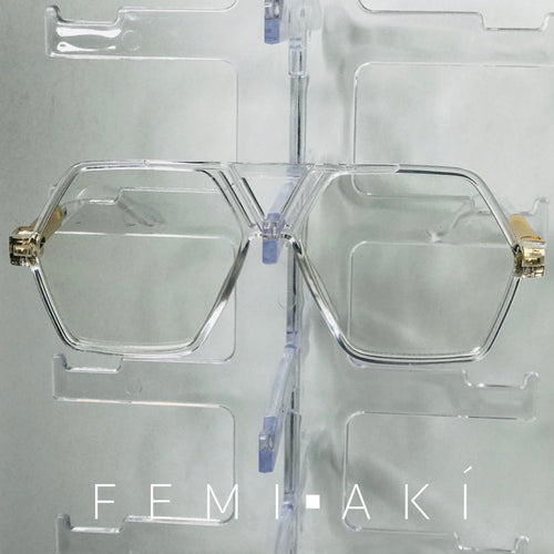 Clear Hexagon Frames