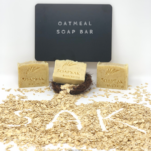 Oatmeal Soap Bar (fragrance free)