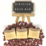 Hibiscus Soap Bar