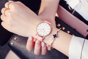 Hannah Martin Leather Strap Ladies Watch
