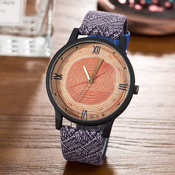 FEIFAN New Wood Simple Casual Watches for Women