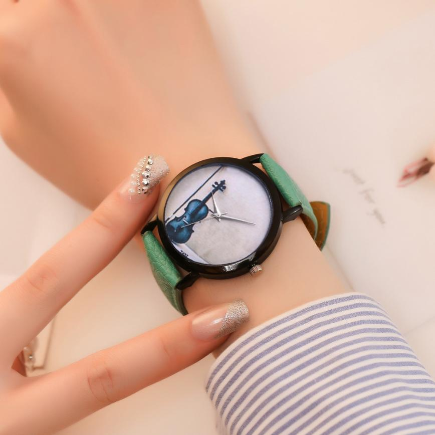 Musical instrument Colorful Women's Quartz Watches