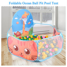 Load image into Gallery viewer, Portable Baby Playpen Children Outdoor Indoor Ball Pool Play Tent Kids Safe Foldable Playpens Game Pool of Balls for Kids Gifts