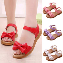 Load image into Gallery viewer, MUQGEW hot sale shoes Children Kids Infant Girls Bowknot Sandals Non-Slip Princess Casual Shoes Butterfly-knot All Seasons shoes