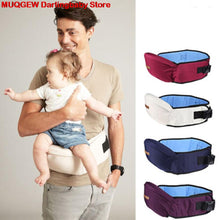 Load image into Gallery viewer, Newborn Baby Care Carrier Waist Stool Walkers Baby Sling Hold Waist Belt Backpack Carriers Hipseat Belt For Children Father Mom