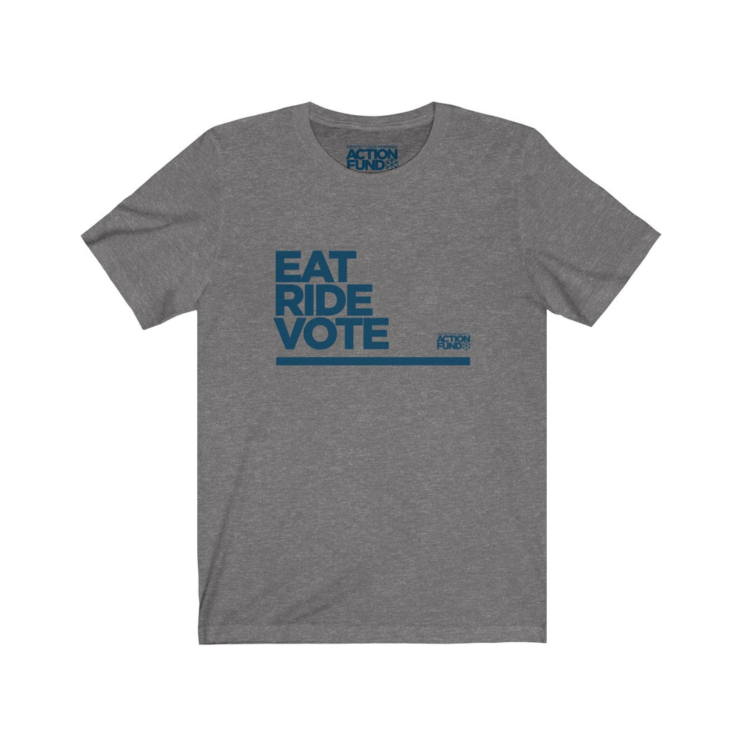 Men's Eat. RIDE. Vote. Tee