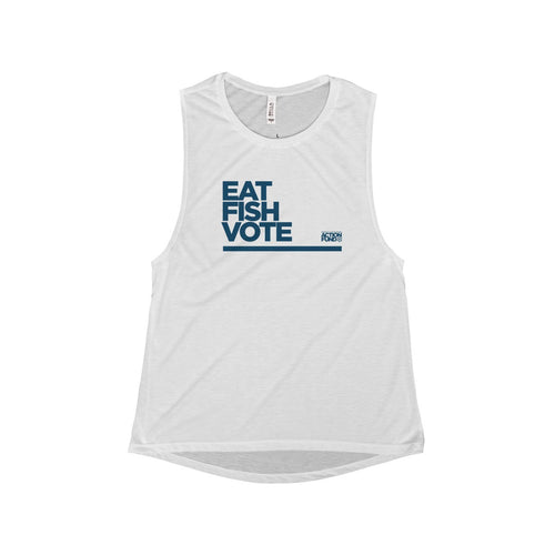 Women's Eat. FISH. Vote. Tank