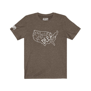 Men's Make America Deep Again Short Sleeve Tee