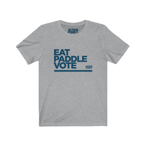 Men's Eat. PADDLE. Vote. Tee
