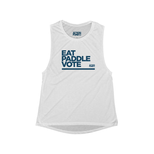 Women's Eat. PADDLE. Vote. Tank