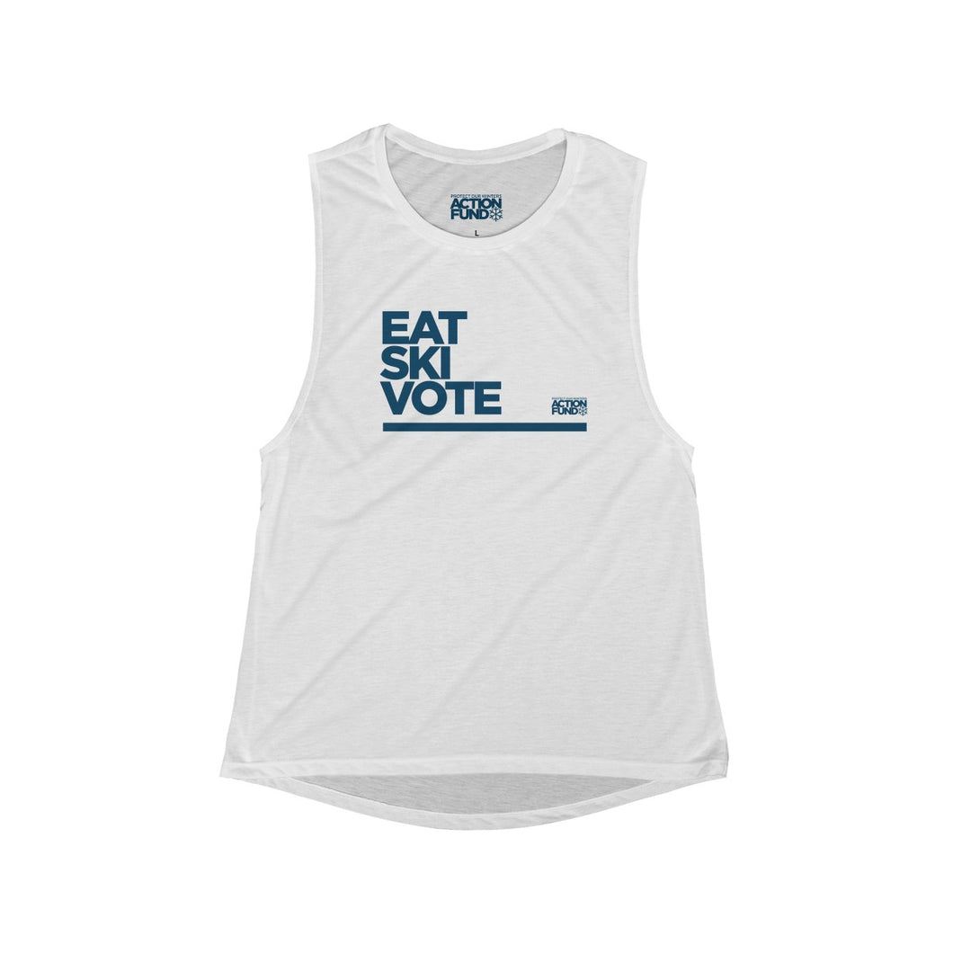 Women's Eat. SKI. Vote. Tank