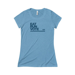 Women's Eat. RUN. Vote. Tee