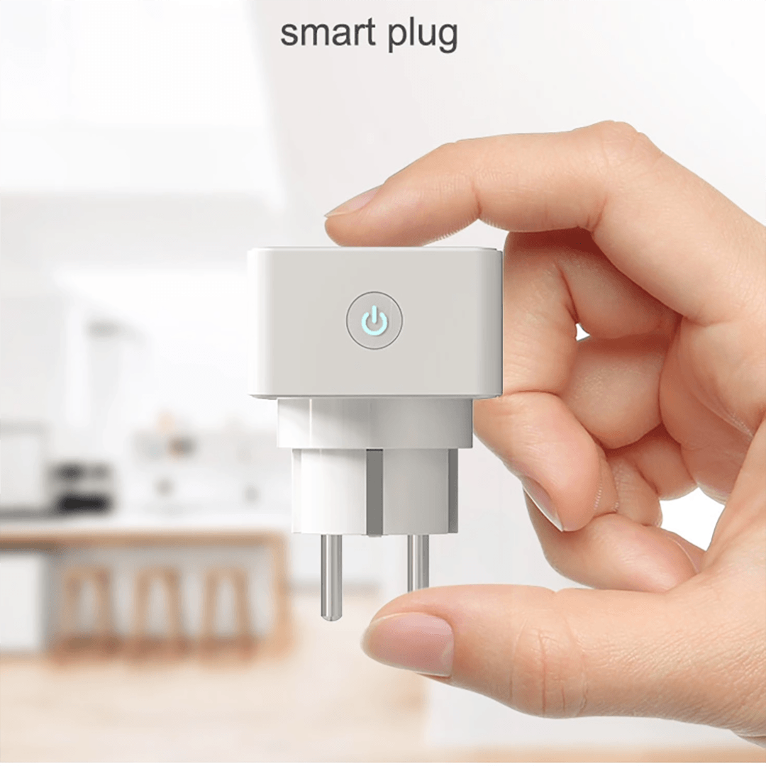 Image of   Smart wifi kontakt/plug- Kompatibel med google home & Amazon Alexa
