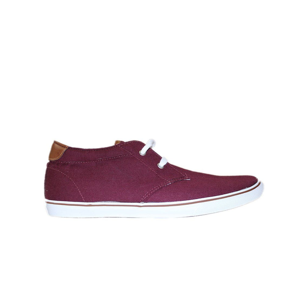 Canvas boot- Herre- Denim- Bordeaux