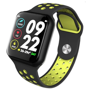 Smart sporty Activity tracker ur M/silicone rem