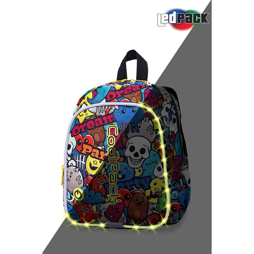 Image of   Coolpack led skoletaske-Bobby-Cartoon