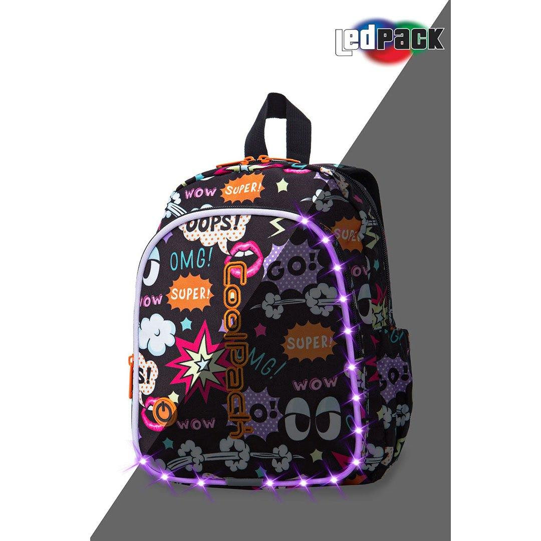 Image of   Coolpack led skoletaske-Bobby-Comics