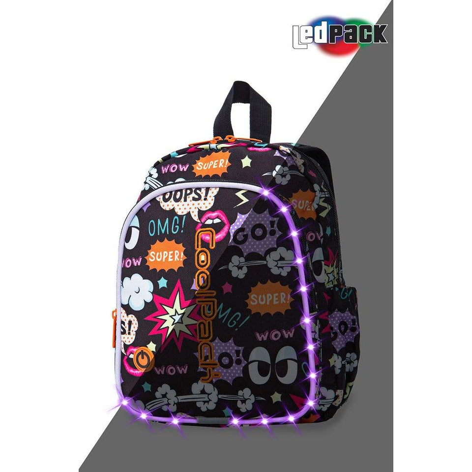 Coolpack led skoletaske-Bobby-Comics
