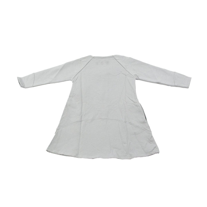 New Generation Pige Zip Dress - Light grey Konkurspriser ny