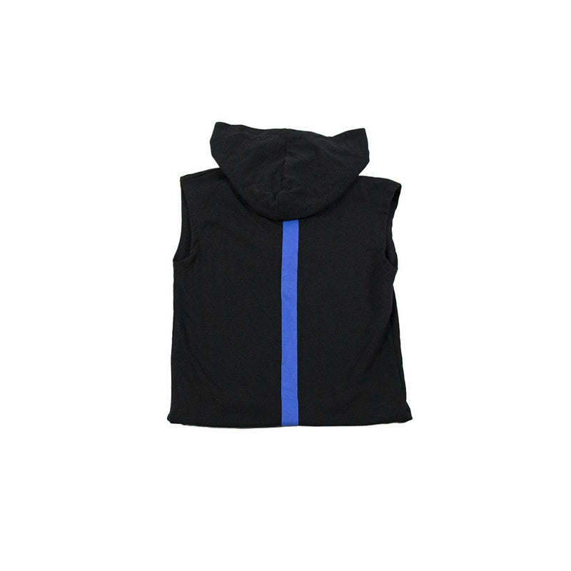 New Generation Drenge Vest m/hætte - Vertical Stripes Konkurspriser ny