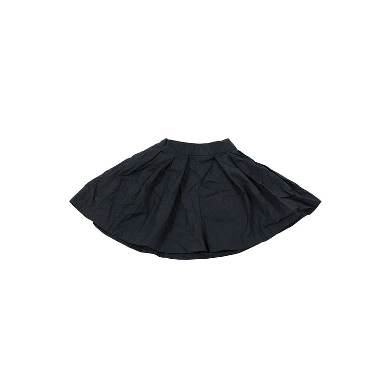 New Generation Pige Pleat Skirt - Black Konkurspriser ny 3år