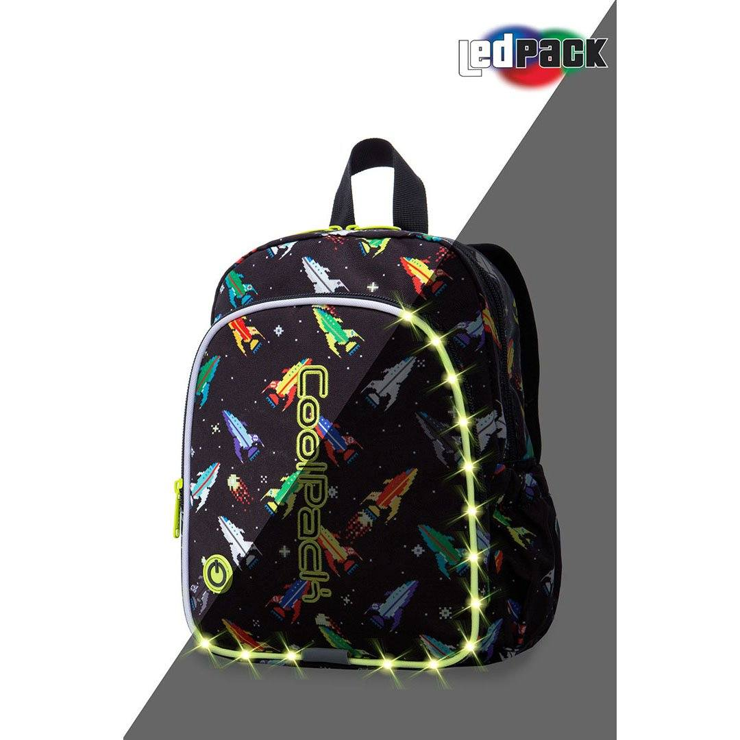 Image of   Coolpack led skoletaske-Bobby-Rockets